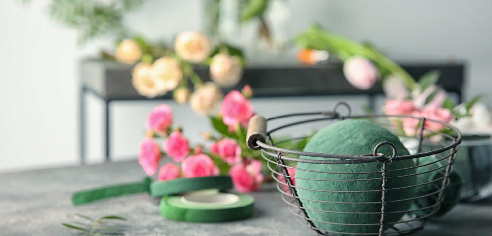 burete floral - accesorii florale